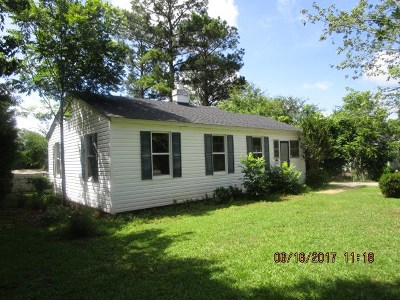 Abbeville SC Single Family Home For Sale: $44,900