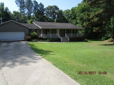 Abbeville SC Single Family Home For Sale: $89,900