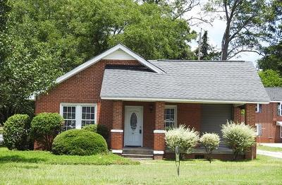 Greenwood County Single Family Home For Sale: 612 Wilson