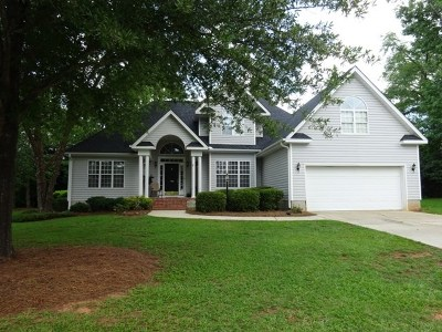 Greenwood Single Family Home For Sale: 105 Coosaw Run