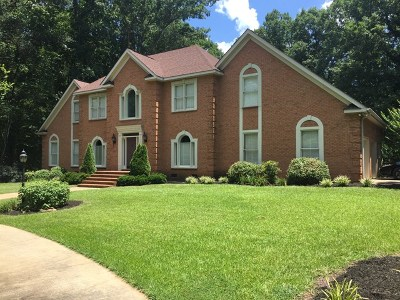 Greenwood Single Family Home For Sale: 361 Plantation Drive