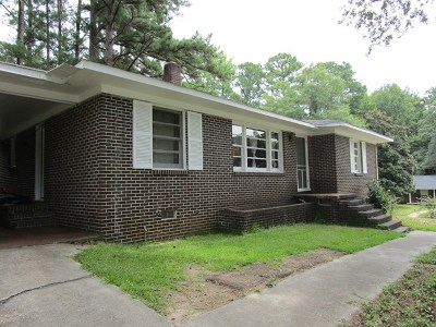 Abbeville SC Single Family Home For Sale: $67,900
