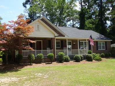 Greenwood County Single Family Home For Sale: 222 E Henrietta