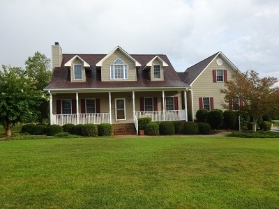 Greenwood County Single Family Home For Sale: 202 Fairway Lakes Road