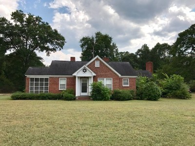 Greenwood Single Family Home For Sale: 321 Hwy 246 N