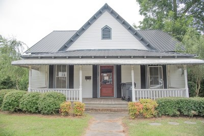 Abbeville SC Single Family Home For Sale: $47,250