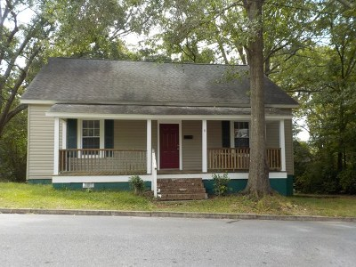 Ware Shoals Single Family Home For Sale: 6 W Fleming