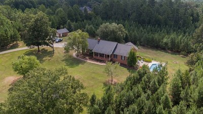 Greenwood Single Family Home For Sale: 201 Breezewood Road