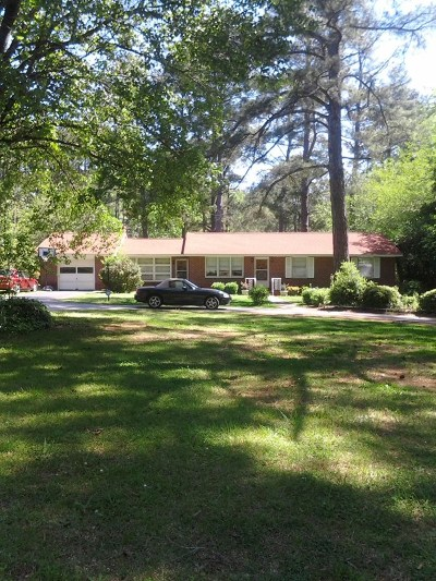 Greenwood County Single Family Home For Sale: 1308 Cokesbury Rd