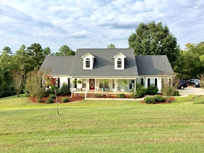 Greenwood County Single Family Home For Sale: 106 Cane Ct