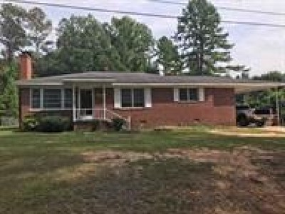 Ware Shoals Single Family Home For Sale: 44 Green Acres Drive