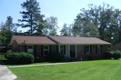 Greenwood Single Family Home For Sale: 105 Clairmont Dr