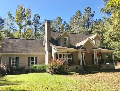 Abbeville Single Family Home For Sale: 2214 Cedar Springs Rd.
