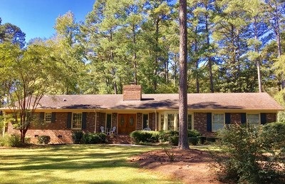 Greenwood County Single Family Home For Sale: 106 Whispering Pines