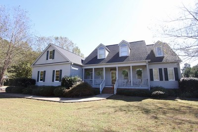 Greenwood County Single Family Home For Sale: 115 Wagon Tree Lane