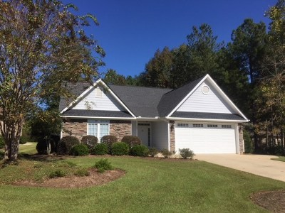 Greenwood County Single Family Home For Sale: 109 Patriot Point Ct.