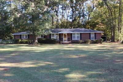 Greenwood County Single Family Home For Sale: 1408 Wilson Bridge Rd