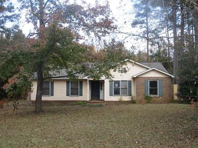 Greenwood County Single Family Home For Sale: 112 Pascal Dr