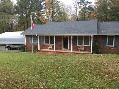 Ware Shoals Single Family Home For Sale: 6 Sycamore Drive
