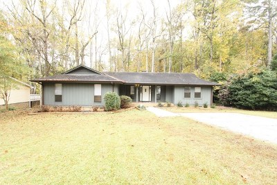 Greenwood County Single Family Home For Sale: 107 Cypress Hollow