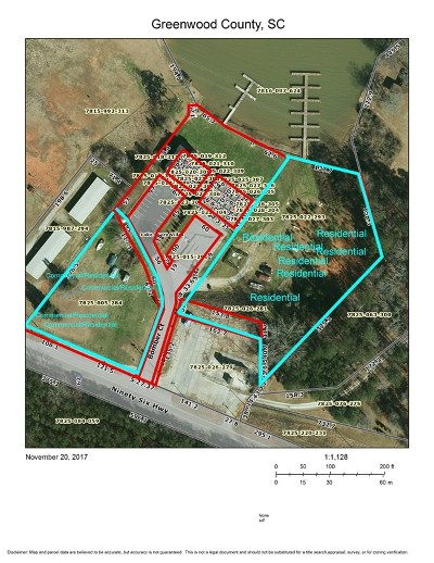 Greenwood County Residential Lots & Land For Sale: 000 Hwy 34 (96 Hwy)