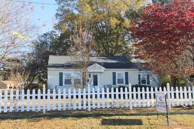 Greenwood County Single Family Home For Sale: 715 New Market
