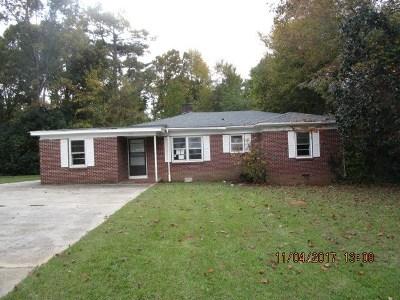 Greenwood Single Family Home For Sale: 327 Lanham St