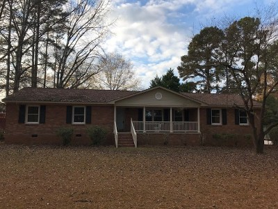 Greenwood Single Family Home For Sale: 1303 Woodlawn Rd