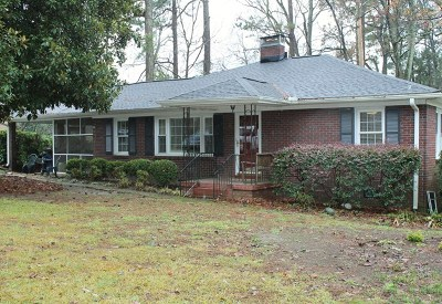 Greenwood Single Family Home For Sale: 417 Dogwood Dr