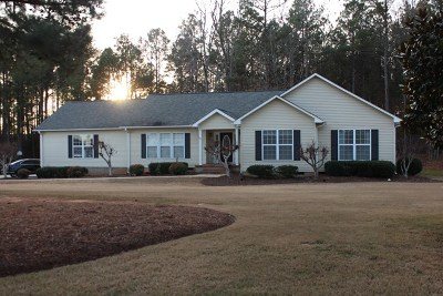 Greenwood Single Family Home For Sale: 1105 Saddle Hill Rd
