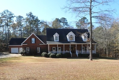 Greenwood County Single Family Home For Sale: 206 Watersedge Rd