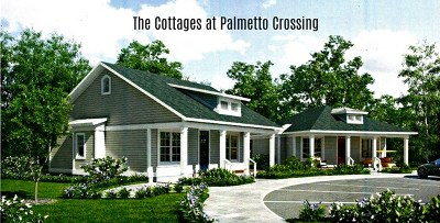 Greenwood Single Family Home For Sale: 1-30 The Cottages At Palmetto Crossing