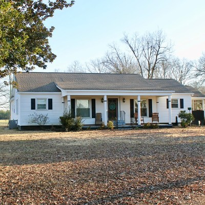 Greenwood County Single Family Home For Sale: 1304 Epworth Camp Rd E