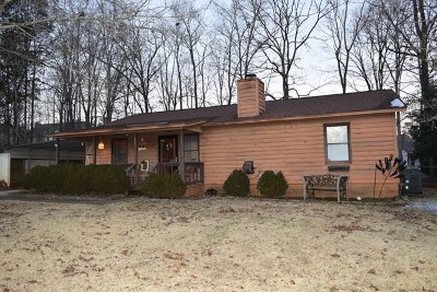Greenwood County Single Family Home For Sale: 117 Ronnie Dr