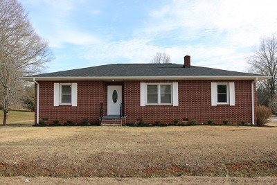 Greenwood County Single Family Home For Sale: 1415 McCormick Hwy