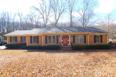 Greenwood County Single Family Home For Sale: 132 Kingston Road