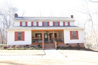 Greenwood County Single Family Home For Sale: 338 Plantation Drive
