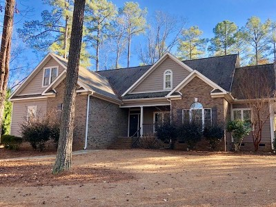 Greenwood County Single Family Home For Sale: 114 Reflections Dr.