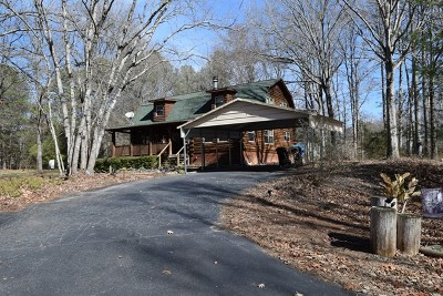 Greenwood County Single Family Home For Sale: 406 Fawnbrook Dr