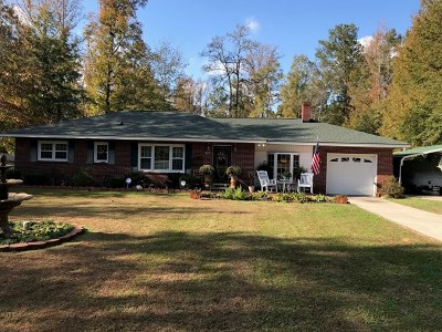 Greenwood Single Family Home For Sale: 201 Woodland Way