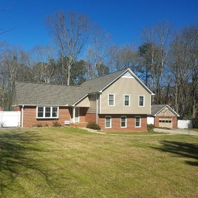 Greenwood Single Family Home For Sale: 103 Sutton Ct
