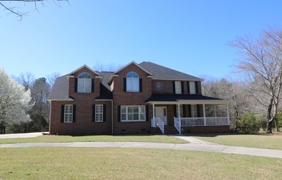 Greenwood Single Family Home For Sale: 209 Plantation Drive