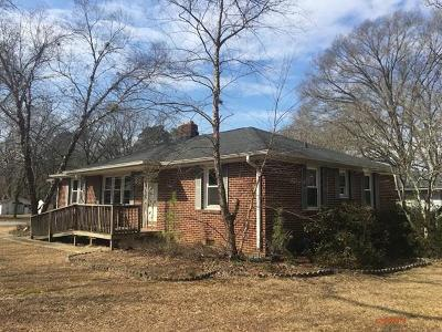 Greenwood County Single Family Home For Sale: 1114 McCormick Highway