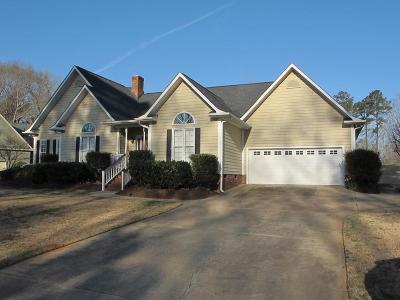 Greenwood County Single Family Home For Sale: 203 Starboard Tack