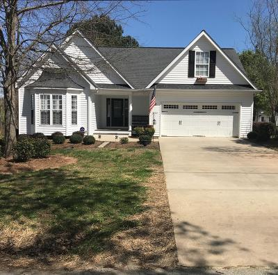 Greenwood County Single Family Home For Sale: 224 Blakedale Circle