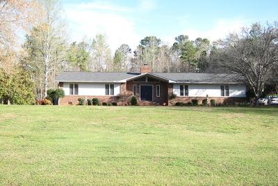 Abbeville SC Single Family Home For Sale: $205,000