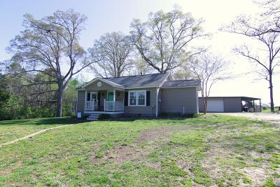 Abbeville SC Single Family Home For Sale: $105,000