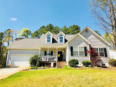 Greenwood Single Family Home For Sale: 248 Oak Ridge Drive