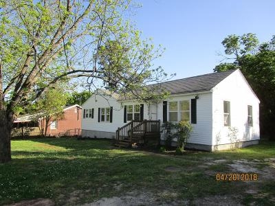 Abbeville SC Single Family Home For Sale: $92,900