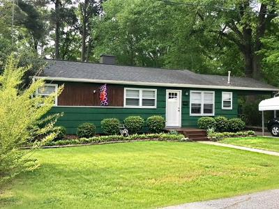 Greenwood County Single Family Home For Sale: 210 Briggs Ave.